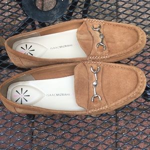 Isaac Mizarahi Live camel leather upper 8.5 loafer